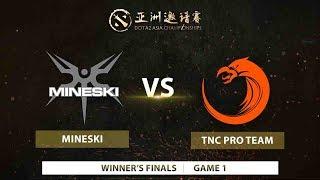 Mineski vs TNC Pro Team | Game 1 | Dota 2 Asia Championships 2018-SEA Qualifier