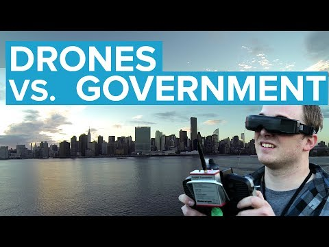 Drones vs. Government: Who Owns America's Skies?