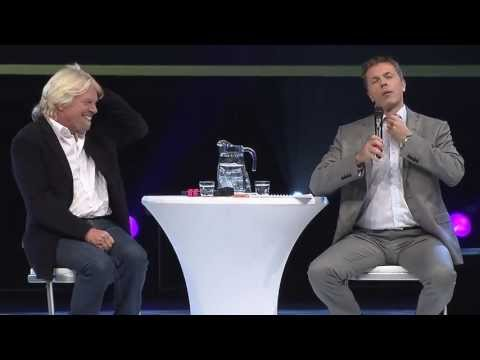 Nordic Business Forum 2012 - Richard Branson on wearing ties