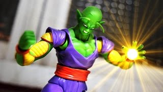 Dragon Ball stop motion review - SHF Piccolo 七龍珠玩具介紹-比克