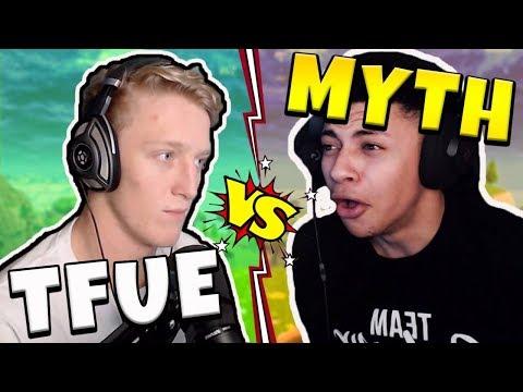 Tfue vs Myth - Fortnite Playground (NA West Server)