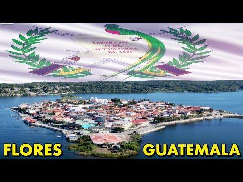 Flores Island - walking tour of this tiny island @ Peten, Guatemala