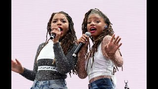 Chloe x Halle MTV Movie Awards 2018 Performance 6 18 2018 MY THOUGHTS REVIEW