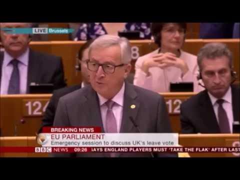 Jean-Claude Juncker: We need to respect British democracy