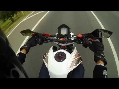 TEST DIRVE KTM 390 Duke ABS 2014