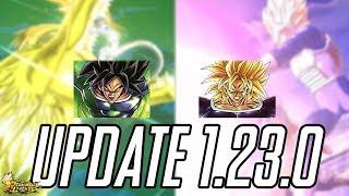 SSJ DBS BROLY & NEUE SUMMON ANIMATIONEN - Update 1.23.0 Infos & Details! Dragon Ball Legends Deutsch
