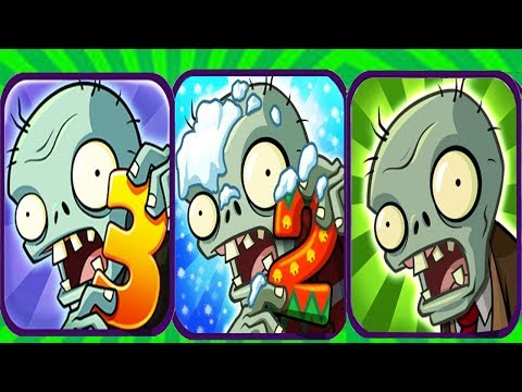 Plants vs Zombies 3 Fan Made vs Plants vs Zombies 2 vs Plants vs Zombies