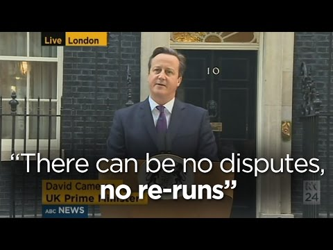 David Cameron 'delighted' by result in Scotland