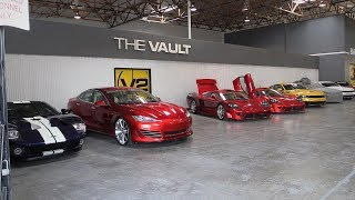 Shop Tour of Saleen Automotive - See the New S302 Mustangs Plus Some Surprises!