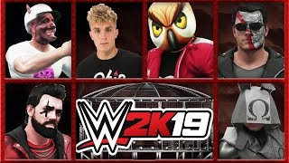 Jake Paul vs Vanoss, Ohmwrecker,  Cartoonz, Wildcat & Terroriser | 5 on 1 Elimination Chamber