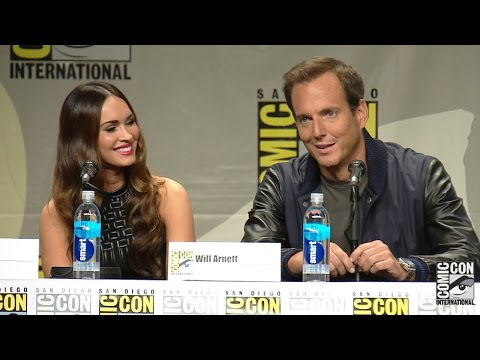 Teenage Mutant Ninja Turtles Comic Con Panel: Megan Fox, Will Arnett