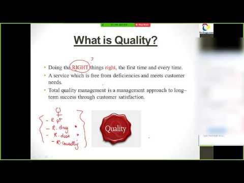 QPS in Pharmacy Practice