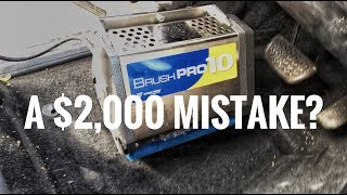 A $2,000 mistake? Auto detailer buys fancy carpet cleaning tool