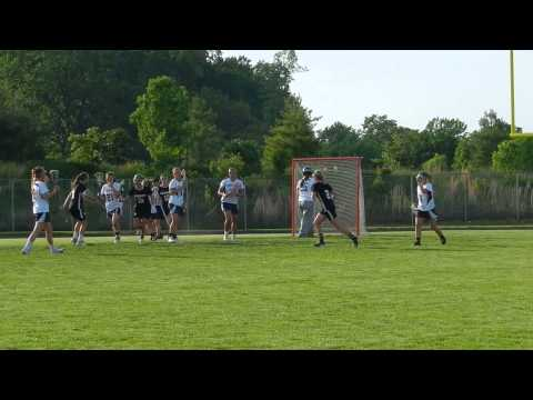 Giles goal Mount Hebron/Marriotts Ridge girls lacrosse 3A/2A South finals 5/15/13
