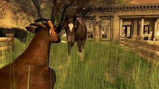 The Adventures of Goat - Visiting Anduril in Second Life