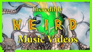 Alien Bee - weird tentacles vs bee cartoon music video animation. Bizarre & strange.