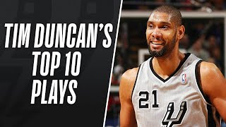 Top 10 Career Plays: Tim Duncan