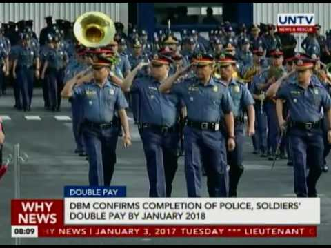 DBM confirms completion of police, soldiers' double pay by January 2018