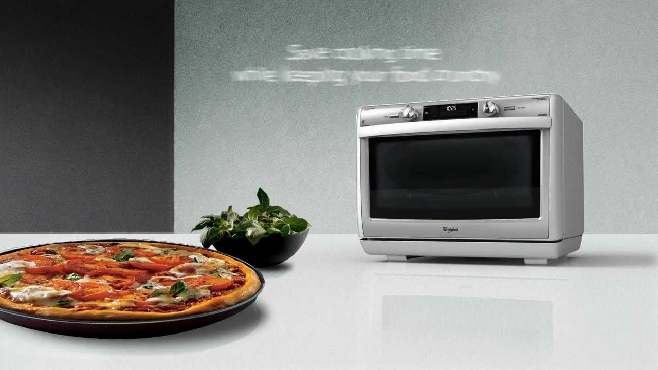 how to make pizza in lg microwave oven video