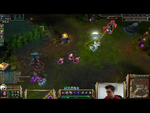 Ocelote - Le Blanc Vs Katarina Mid «boss» (challenger L) video
