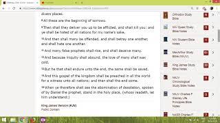 Matthew 24:4 -15 all around us now
