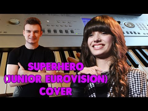 Viki Gabor - Superhero (Junior Eurovision 2019 Poland) cover by Wojtek Zięba karaoke (HD)