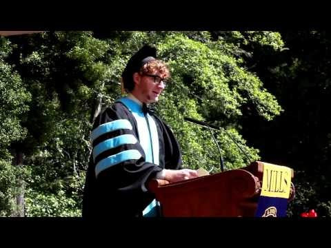 Mills College 2013 Commencement: Graduate Student Speaker