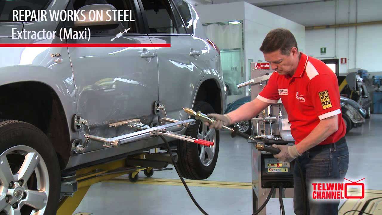 Puller Station Dent Pulling Of Steel And Aluminium Eng