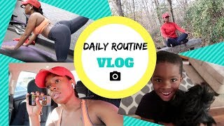 DAILY ROUTINE VLOG | MY WORKOUT ROUTINE & MORE