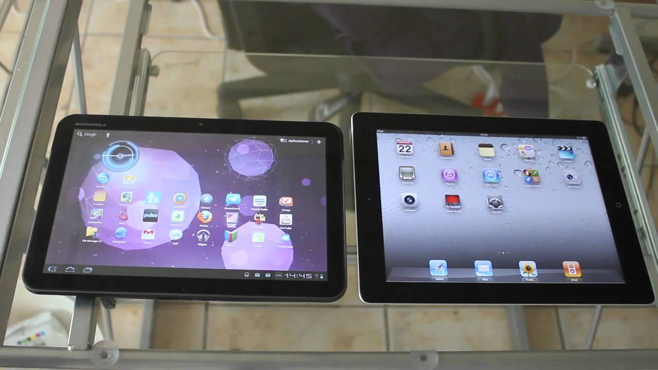 Motorola Xoom vs Ipad 2 Motorola Xoom vs Apple Ipad 2