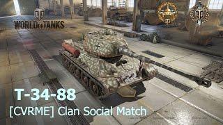 T-34-88 / Hidden Village - CVRME Pack Flank (Social) [WoT XB1]