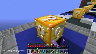 Minecraft MS PACMAN LUCKY BLOCK RACE LUCKY BLOCK MOD MINI GAME