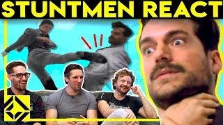 Stuntmen React To Bad & Great Hollywood Stunts