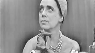 What's My Line? - Elsa Schiaparelli; Faye Emerson [panel] (Sep 21, 1952)