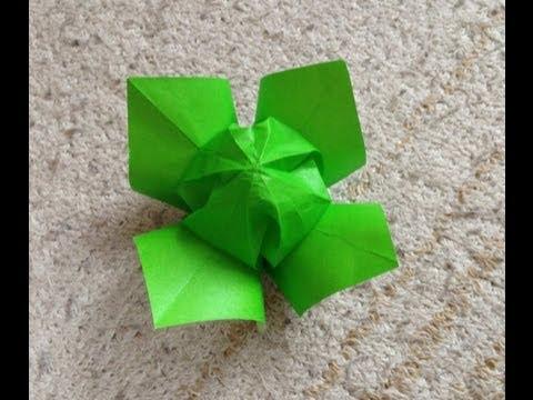 折り紙 お雛様 折り紙 立体 : キャベツ 折り紙 立体 折り方 ...