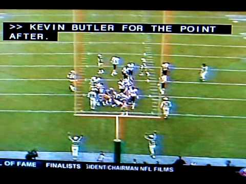 1985 Bears vs GB Nov. 3rd, Fridge's Touchdown 7-3
