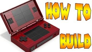 How to Build LEGO Nintendo DS