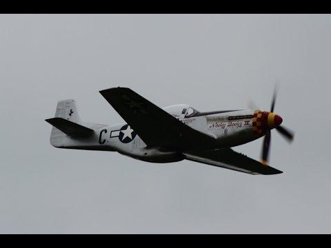 North American P-51D Mustang - La Ferté Alais Air Show 2016