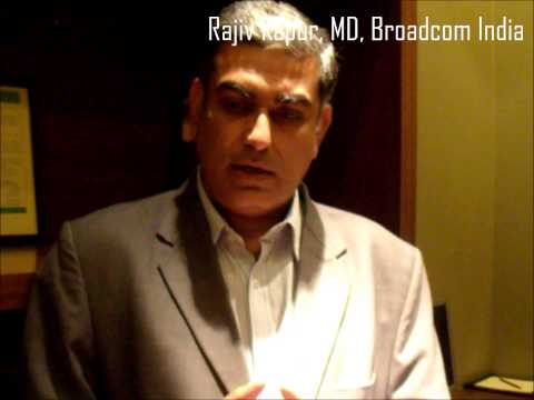 Broadcom's Rajiv Kapur on India growth strategy in cable and DTH market by Telecomlead.com