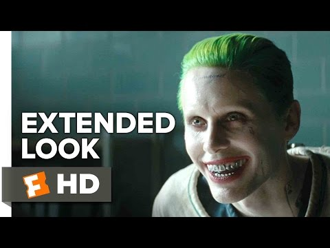Suicide Squad - Joker Extended Look (2016) - Jared Leto Movie