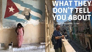 What They Don't Tell You About Havana Cuba