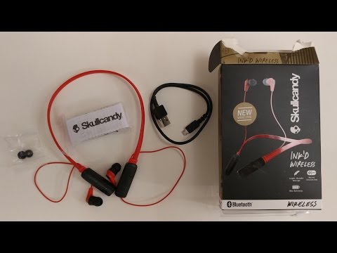 SkullCandy Ink'd Wireless Bluetooth Earbuds Unboxing/Initial Review