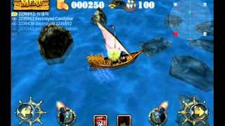 Pirates 3D Cannon Master - Mobile Gameplay