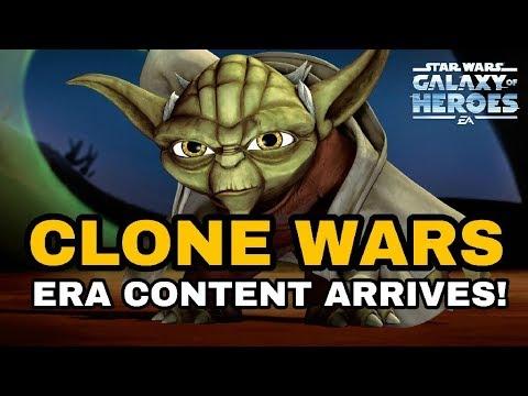Grand Master Yoda Rework! Star Wars Galaxy Of Heroes