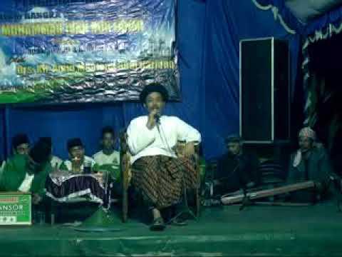 Lagu kebangsaan bersama Rijalul Ansor Kradenan Blora