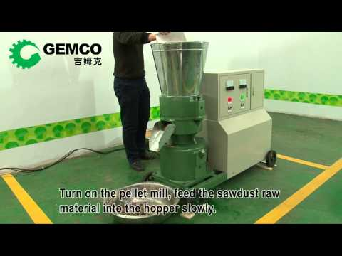 Wood pellet maker, Wood pellet manufacturing equipment, wood pellet press