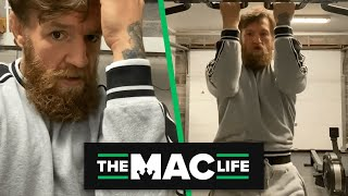 Conor McGregor shares a trick for pull-ups that helps with MMA defense