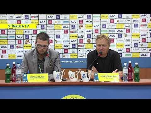 Tisková konference domácího trenéra po utkání Teplice - Sparta Praha (20.10.2019)