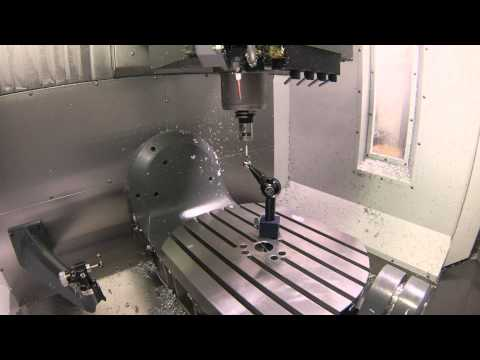 Haas UMC-750 MRZP Calibration Cycle