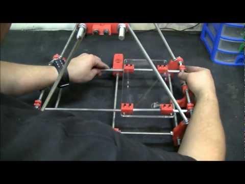Reprap Assembly 03. Y axis. Prusa Mendel V2